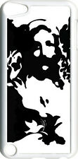 Black & White Jesus Face and Dove Design on iPod Touch 5th Gen 5G TPU Case Cover