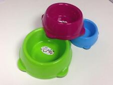 COLOURS OF EAT RANGE DOG FOOD RETRO BOWL cat rabbit coloured puppy food water