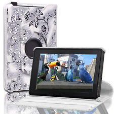 360 Degree Rotating Folio Slim Leather Case Cover Stand For Amazon Kindle Fire