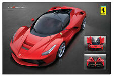 Ferrari Laferrari Large Wall Poster New - Laminated Available