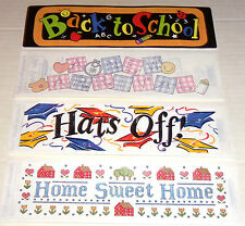 FRANCES MEYER STICKER CHOOSE HOME SWEET HOME GRADUATION SCHOOL A NEW ARRIVAL NEW