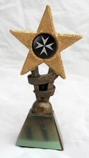 ST JOHN'S AMBULANCE STAR TROPHY INCLUDING YOUR ENGRAVING Choice of Sizes NEW