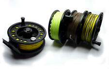 Cassette Fly Reel & 4x Ready Installed Fly Lines - Float, Int, Sink & Sink-Tip
