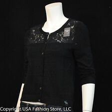 Abercrombie & Fitch Women's Sweaters Cardigan Navy  NWT
