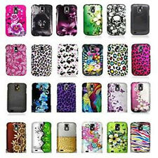 For Samsung Galaxy SII X S2X T989d Telus Canada Leopard Flower Design Hard Cover