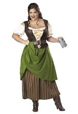 Tavern Maiden Renaissance Plus Size Adult Halloween Costume