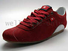 new Oliberte Rovia Ethiopia THIS IS AFRICA red white suede casual mens shoes NIB