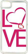 Love Heart or Raining Love Designs on Blackberry Z10 TPU Hard Case Cover