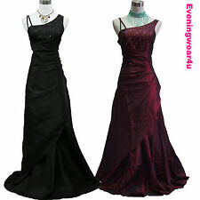 Cherlone Satin Ball Bridesmaid Ballgown Wedding/Evening Formal Prom Gown Dress