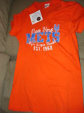 MLB NEW YORK METS TEE SHIRT  ORANGE SMALL