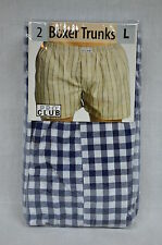2 NEW PROCLUB BOXER TRUNKS MEN COLOR UNDERWEAR SHORTS PRO CLUB S-7XL 2PC