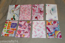 Breast Cancer Ribbon Prostate Cancer theme fabric PURSE TISSUE COVER HOLDER