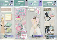 U CHOOSE  Jolee's SHOWER OF LOVE BRIDAL SHOWER BRIDAL REGISTRY wed 3D Stickers