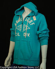 Aeropostale Men Hoodies Big Text Turquoise NWT