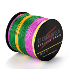 100% PE SUPER STRONG DYNEEMA SPECTRA BRAID FISHING LINE 1000M/1093yards Multi-C