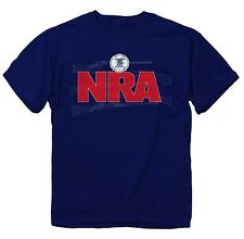 Buckwear National Rifle Association NRA Guns Navy Men's T-Shirt