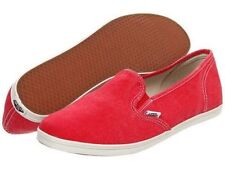 Vans Shoes Slip On Lo Pro Washed Red USA SIZE FREE POST GIRLS MENS Sneakers
