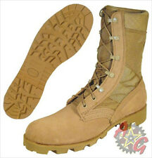 Military Desert Tan Combat Boots - NEW - Sierra Sole -  Army Issue - Hot Weather
