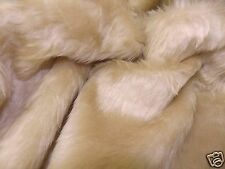 Faux Fur Fabric SAND - All Sizes Bulk Discounts FREE POST