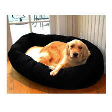 """Majestic Pet 40"""" Sherpa Bagel Pet Dog Bed for 45-70 lbs dog"""