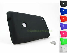 for Nokia Lumia 521 TMobile &PryTool Bundle Soft Case Rubber Gel Skin Cover