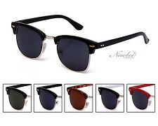 Half Frame Style Sunglasses Vintage Retro Many Color Styles Frame