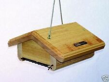 Upside Down Suet Bird Feeder (Available in 3 Colors) Starling and Jay Resistant
