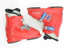 Salomon Performa T2 Ski Boots Used Toddler Size