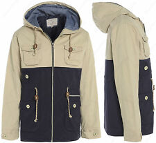 Size S M L XL Mens Jacket COAT Hooded Casual Parka