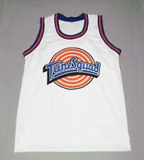 WILE E. COYOTE TUNE SQUAD SPACE JAM MOVIE JERSEY WHITE TOON ANY SIZE XS - 5XL