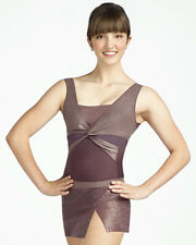 New Capezio Metro Fusion Tank Leotard Black  10064 Great Price Adults