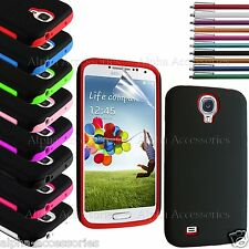 Hybrid Silicone And Hard Skin Case Cover For Samsung Galaxy S4 i9500