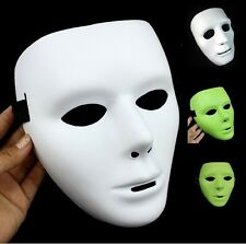 White/Black/Fluorescent Color JabbaWockeeZ Mysterious Mask With White Gloves Hot