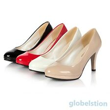 Classic Women Stilettos High Heel Office Dress Work Platform Womens Pump Shoes