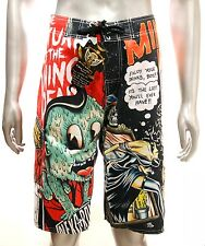 "z12 Minute Mirth Shorts Sz 32"" 34"" 36"" 38"" Skateboard Street Skull Trunks Beach"