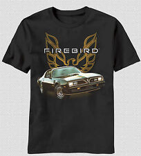 New Chevrolet Chevy Classic Firebird Car Emblem Logo Symbol Vintage T-shirt top