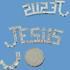 JESUS Brooch Pin Lives Love Christian Religious Woman Cap Mom Seasonal Jewelry