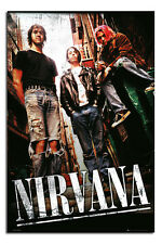 Nirvana Group Large 24 x 36 Inch Wall Poster New - Laminated Available