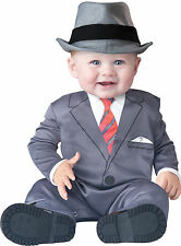 Infant Toddler Baby Business Execuctive Gangster Costume Halloween