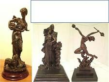 ART DECO BRONZES Cold Cast bronze colour designer resin - Very collectable art