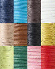 2MM WAXED COTTON CORD WAX JEWELRY BEADING CORDING 25 METERS