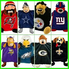 Kids NFL Team Mascot Backpack Youth Bookbag Boys Girls School NFL Bag New Hat