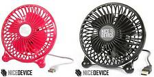 USB FAN FOR THE OFFICE DESK OR HOME COOL AIR SAFE DURABLE GADGET SMALL MINI