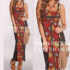 $108 bohemian Moroccan Ethnic print Maxi Dress Urban People Clothing wholesale