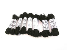 Truka Black round shoe and boot laces different lengths available