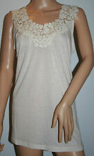 Glamorous - Woman's Cream Embroidered Dress Size14 New