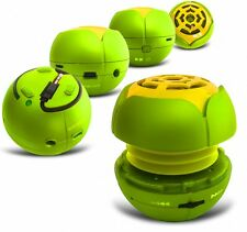 Mp3 Speaker Rechargeable Portable Green W/ Micro USB/TF Card Slot For Most Phone