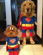 New Fancy Hot Pet Dog Cat Halloween Clothing Superman Costume Oufit