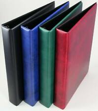 """IPPA regular padded binder. Very good quality with a 1"""" D 4-ring mechanism."""