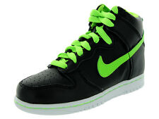 Nike Dunk High Nd (PS) Basketball Shoes Black Electric Green White Kids